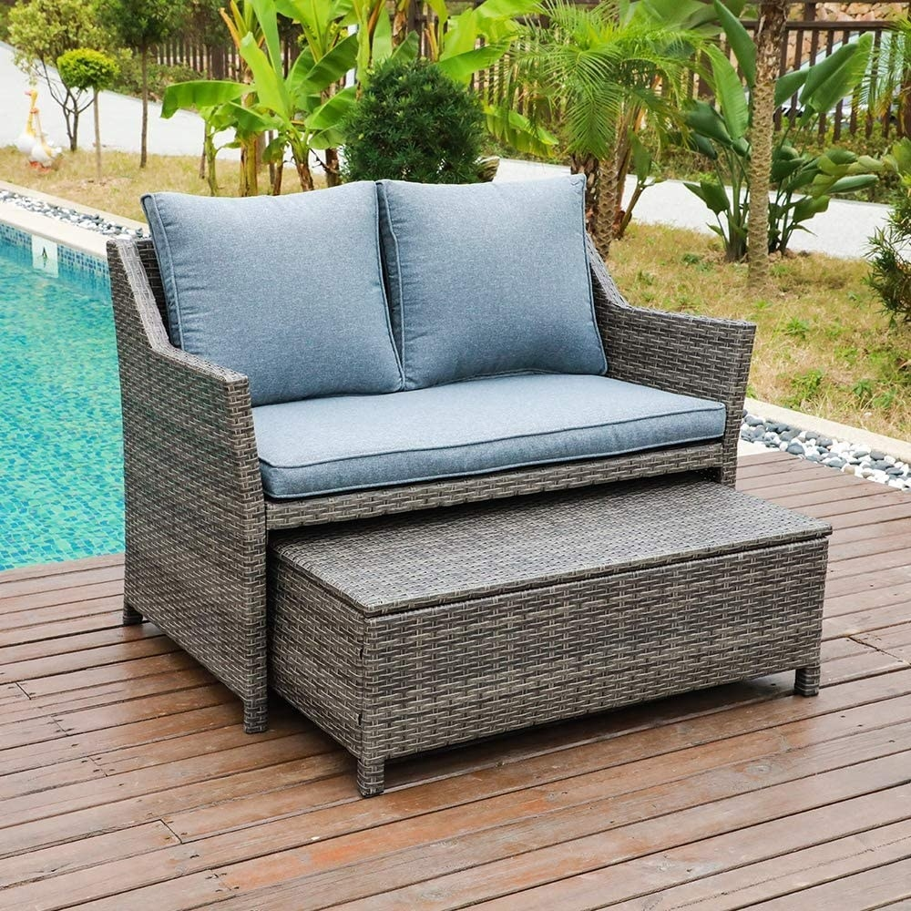 31 pieces of small space outdoor furniture