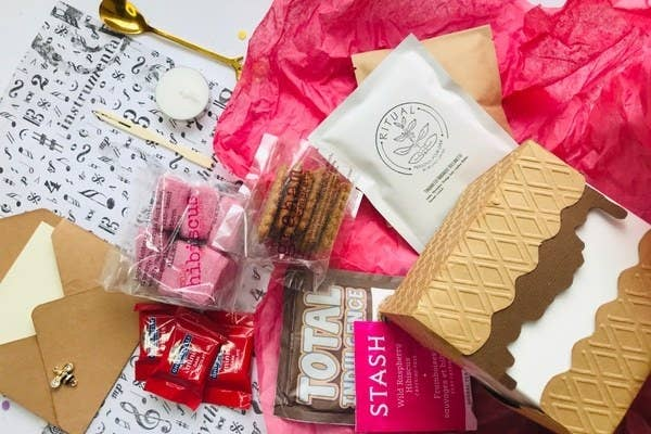 The Marshmallow of the Month Club box