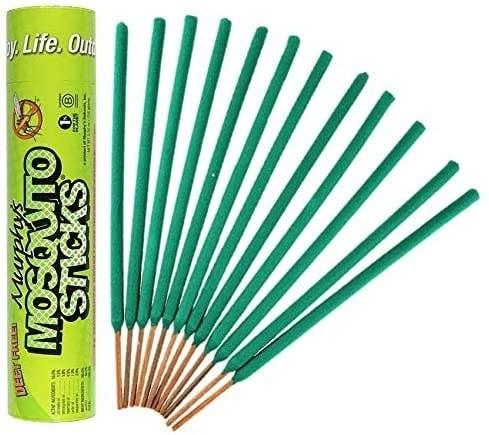 A set of green-tipped sticks