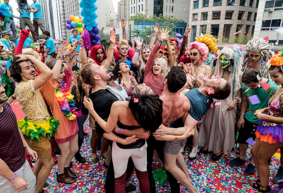 The cluster goes wild at Sao Paulo Pride in season 2