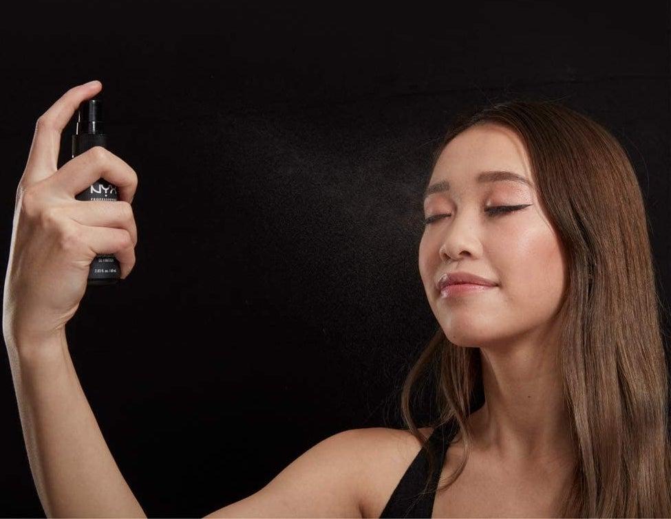 spray fijador de maquillaje nyx