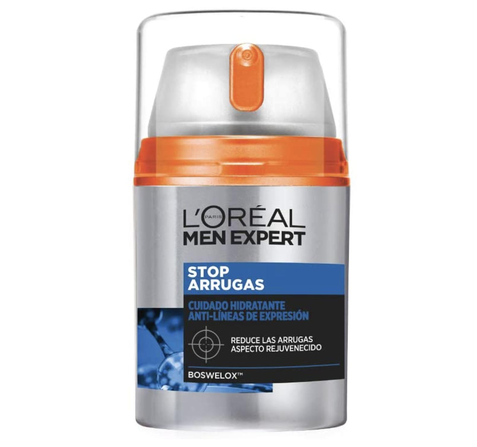 crema antiarrugas loreal para hombre