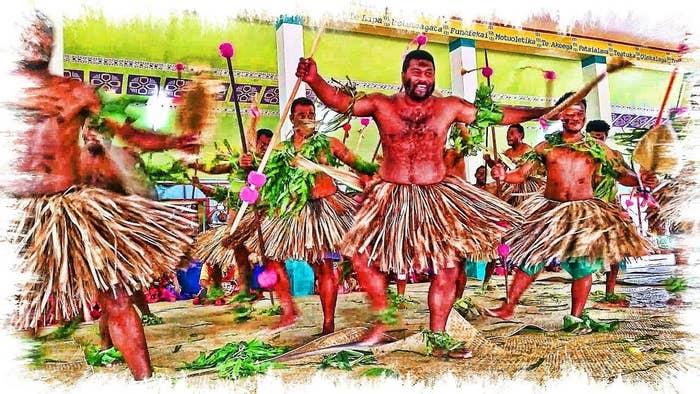 Meke Traditional Fiji Dance