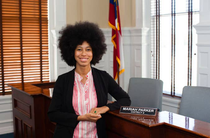 Mariah Parker, Athens-Clarke County Commissioner