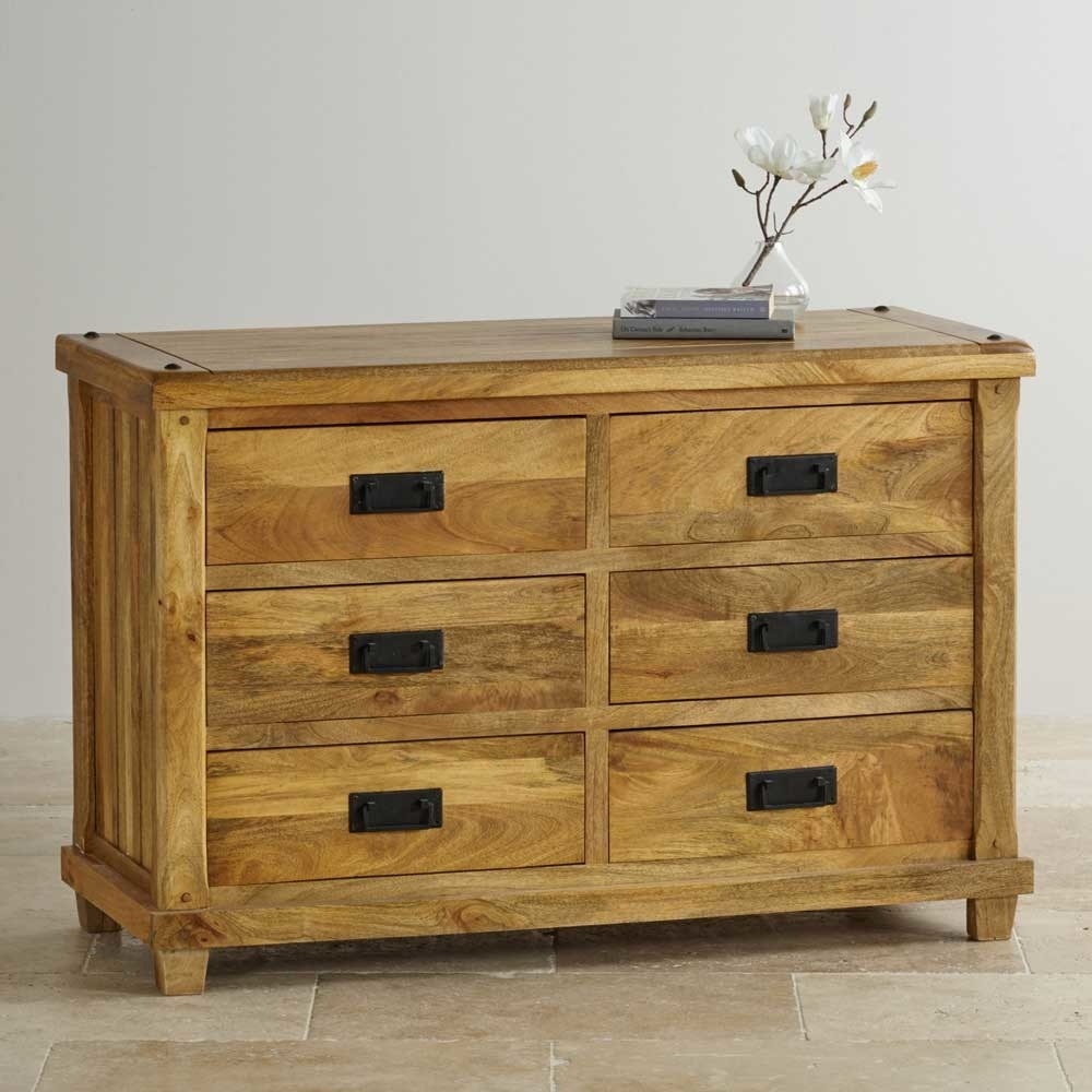 Chest of 6 Drawer, Mango Wood