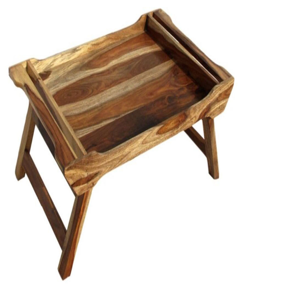 Foldable Bed Tray, Sheesham Wood