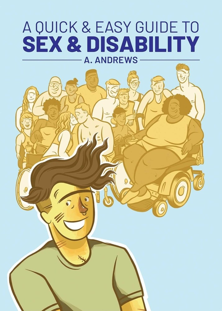 cover of book with an illustration of a group of people with visible and invisible disabilities