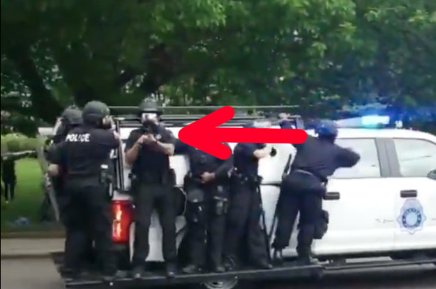 15 Not-Peaceful Things Cops Were Recorded Doing During The Weekend's Black Lives Matter Protests