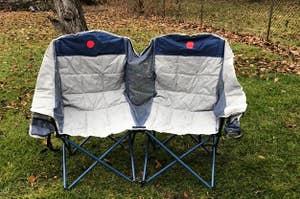 camp chair loveseat