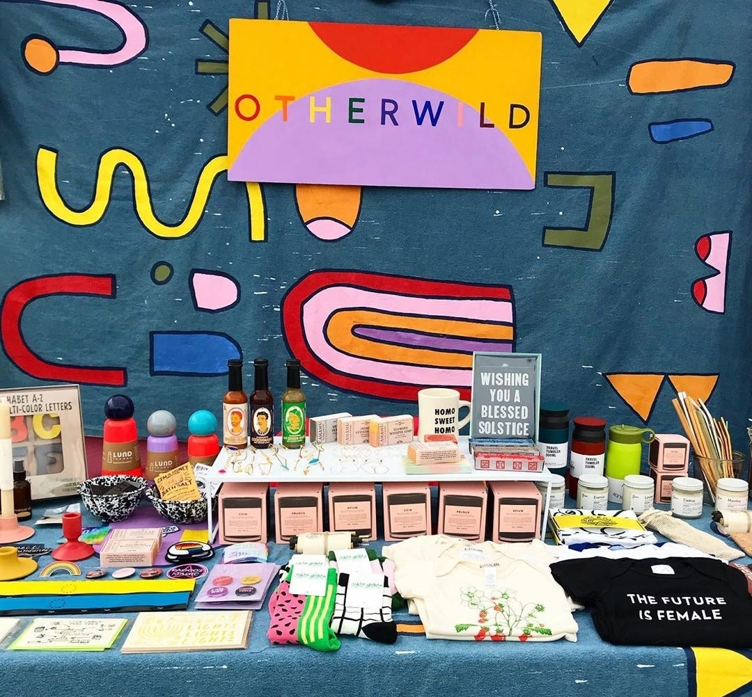 Various products sold at Otherwild