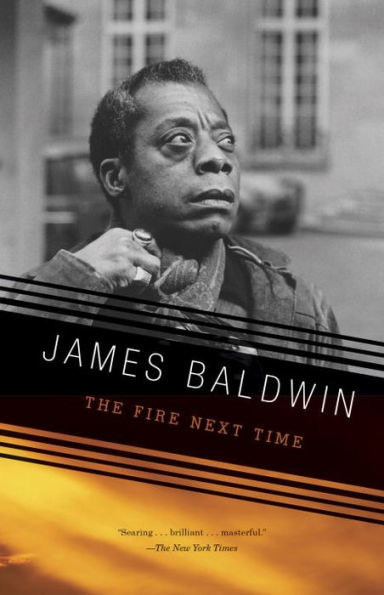 "Cover of ""The Fire Next Time"" by James Baldwin"