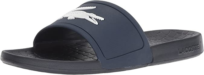 A slide with an alligator logo across the upper