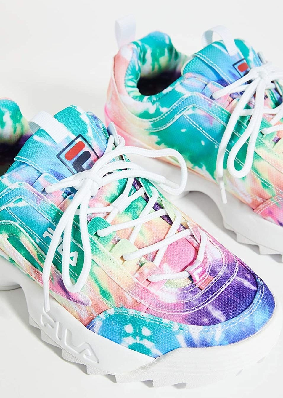 The tie-dye sneakers