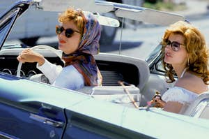 Thelma and Louise on a road trip