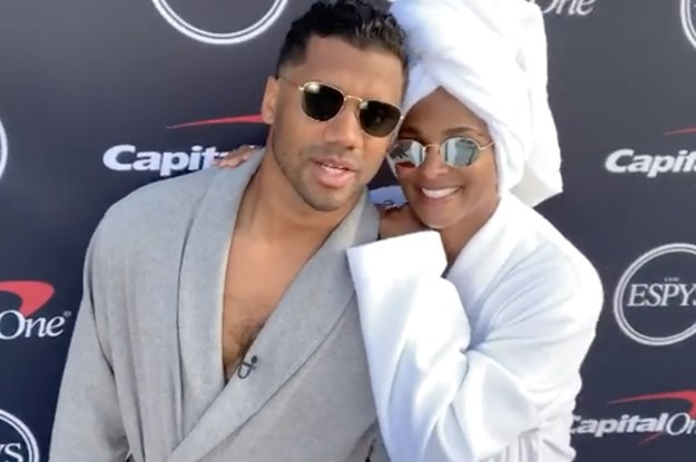 Ciara And Russell Wilson Didnt Even Get Dressed For This Years ESPYs