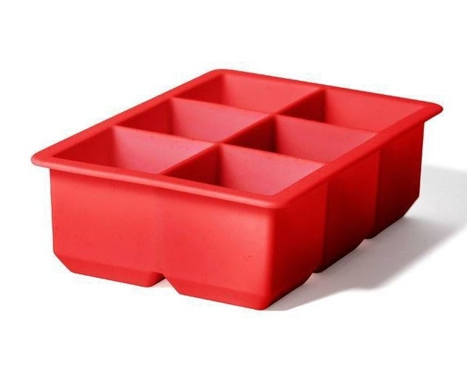 the red ice tray