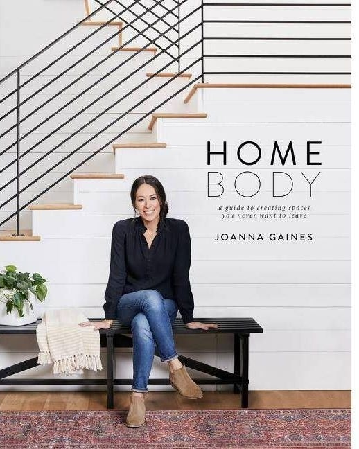 Joanna Gaines on the cover of a book
