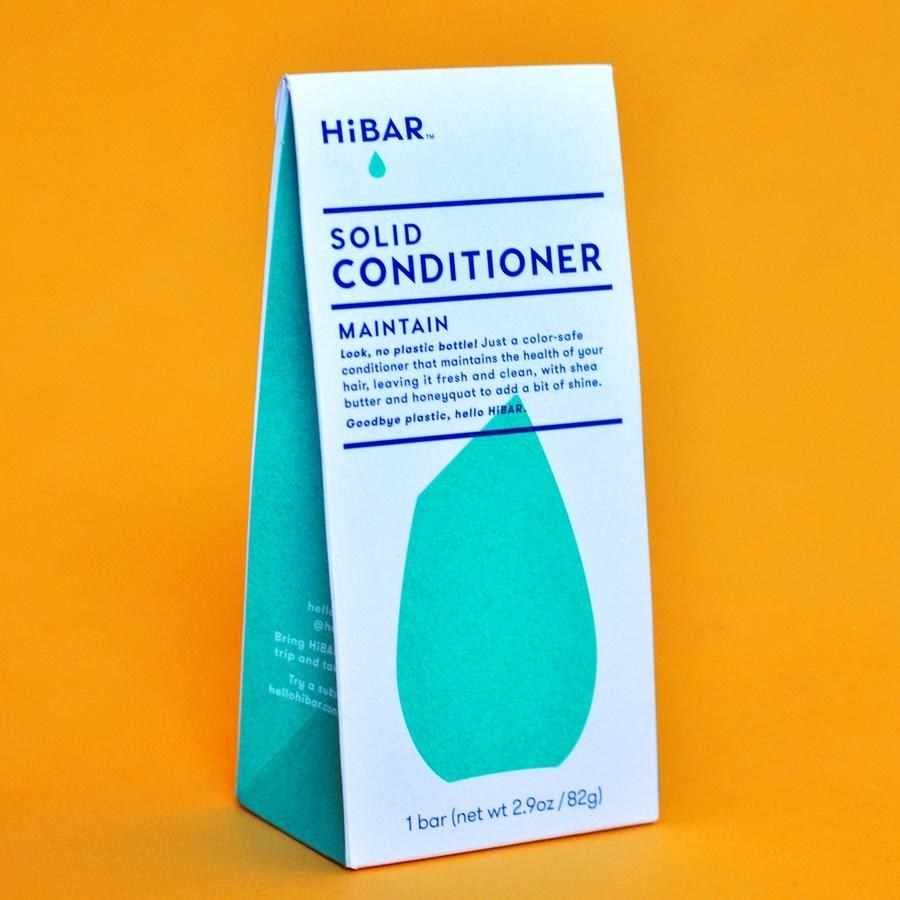 The bag of solid conditioner
