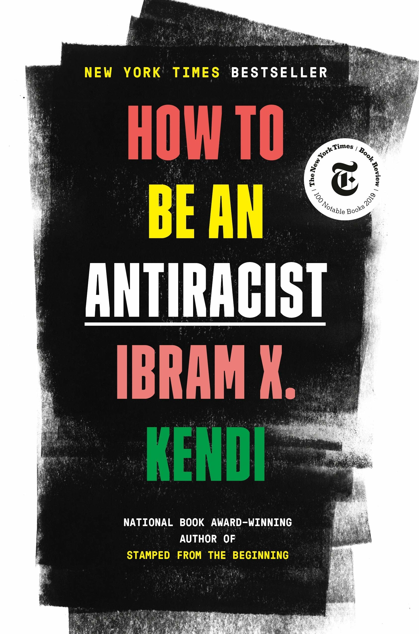 The cover of How to Be an Antiracist.