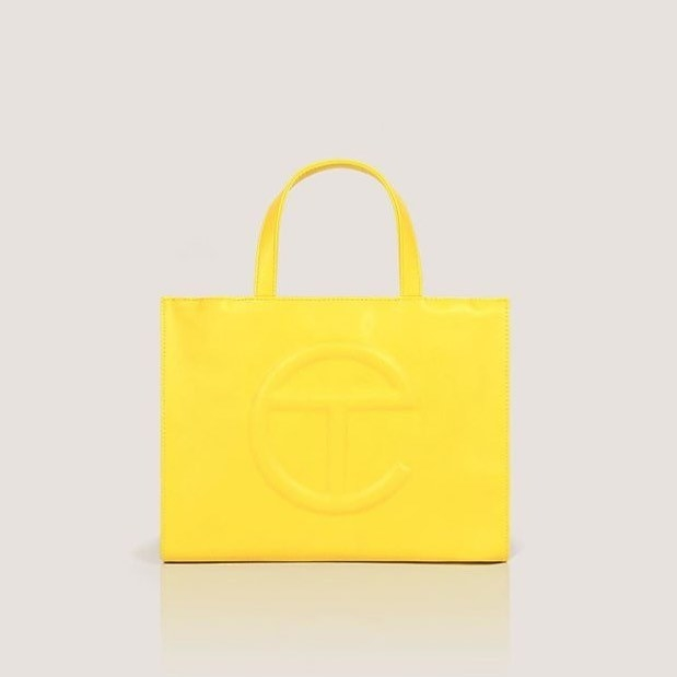 The tote in yellow