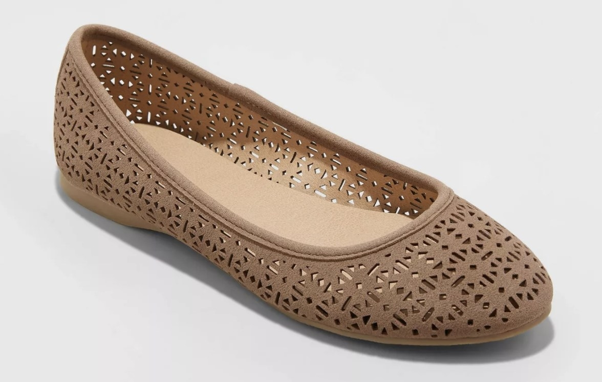 The flats with cutout details
