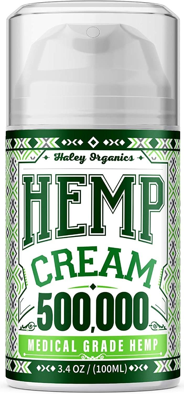 Haley Organics Hemp Cream
