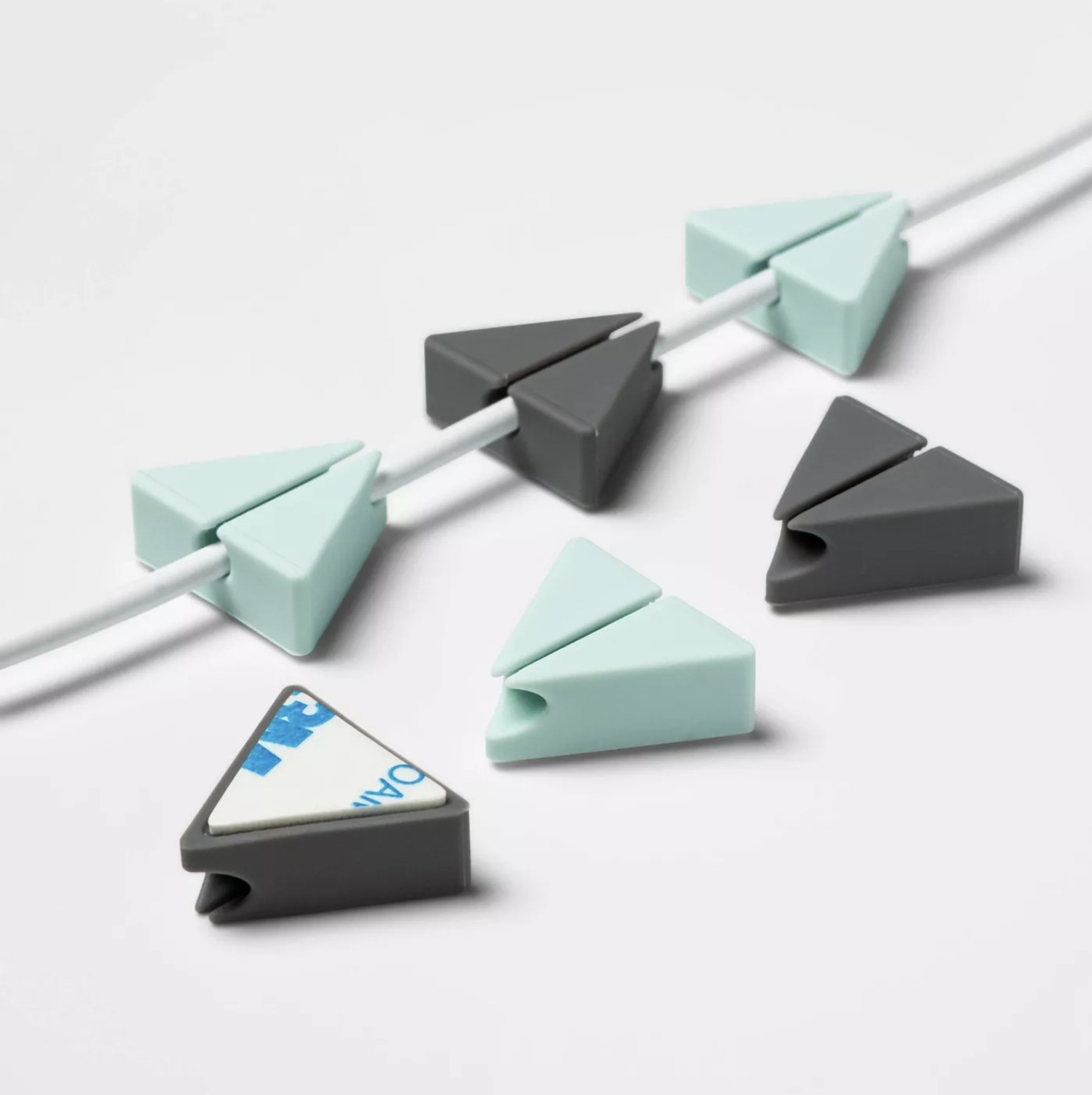 The triangle cable clips