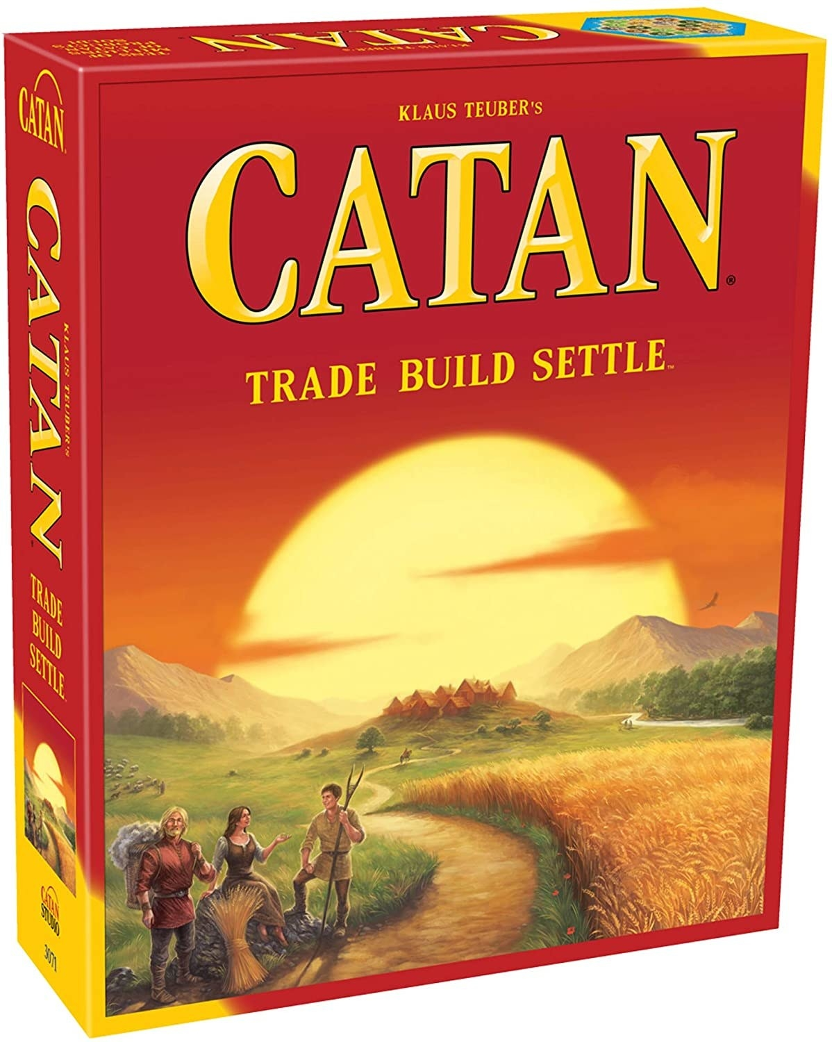 Catan board game box