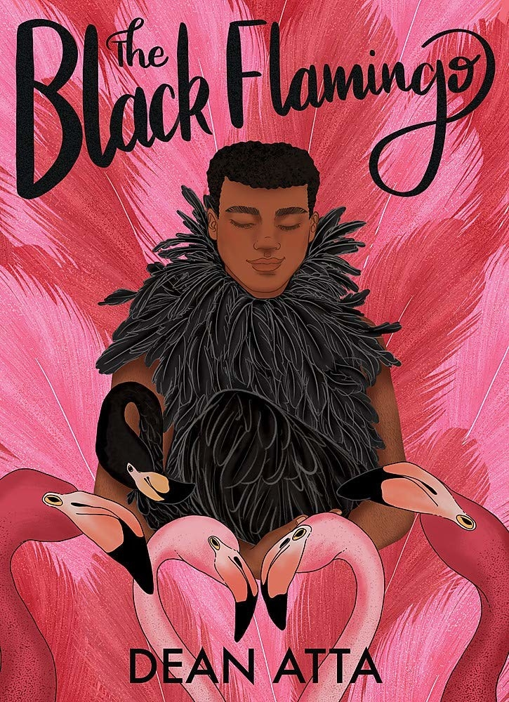 "Cover of ""The Black Flamingo"" by Dean Atta"
