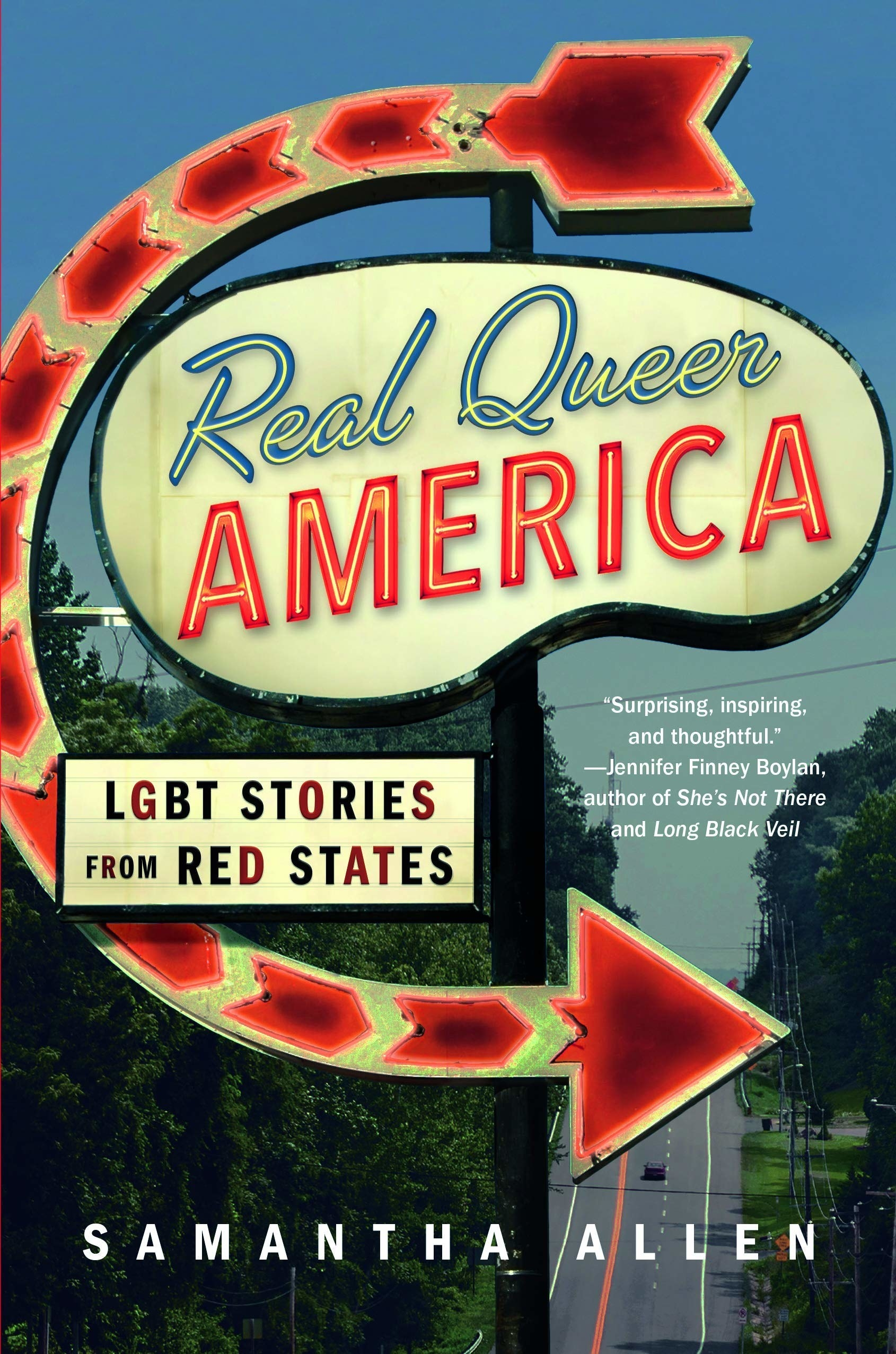 "Cover of ""Real Queer America"" by Samantha Allen"
