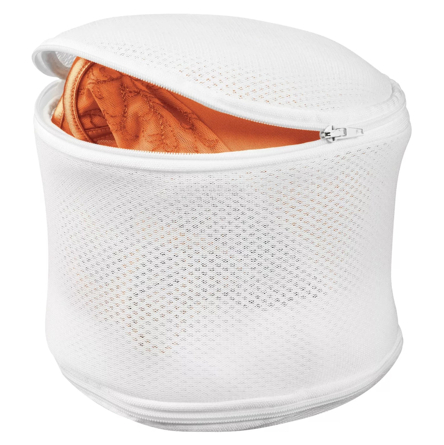 The mesh wash bag