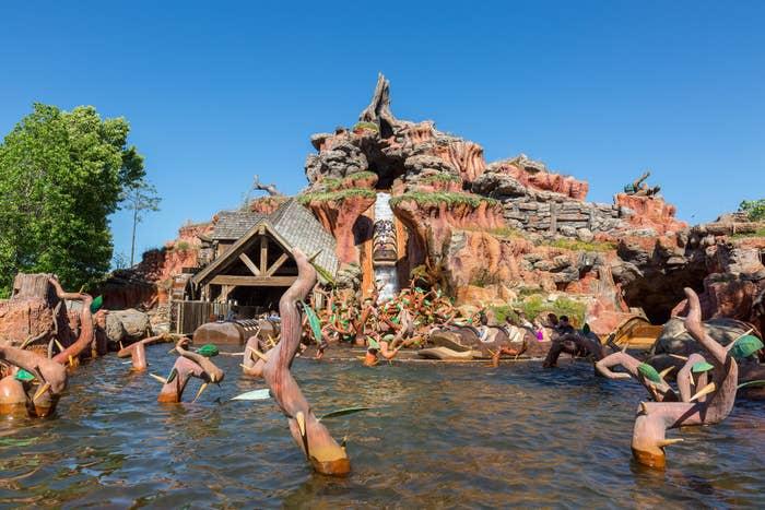 Disney Changing Splash Mountain Ride Based On Racist Movie