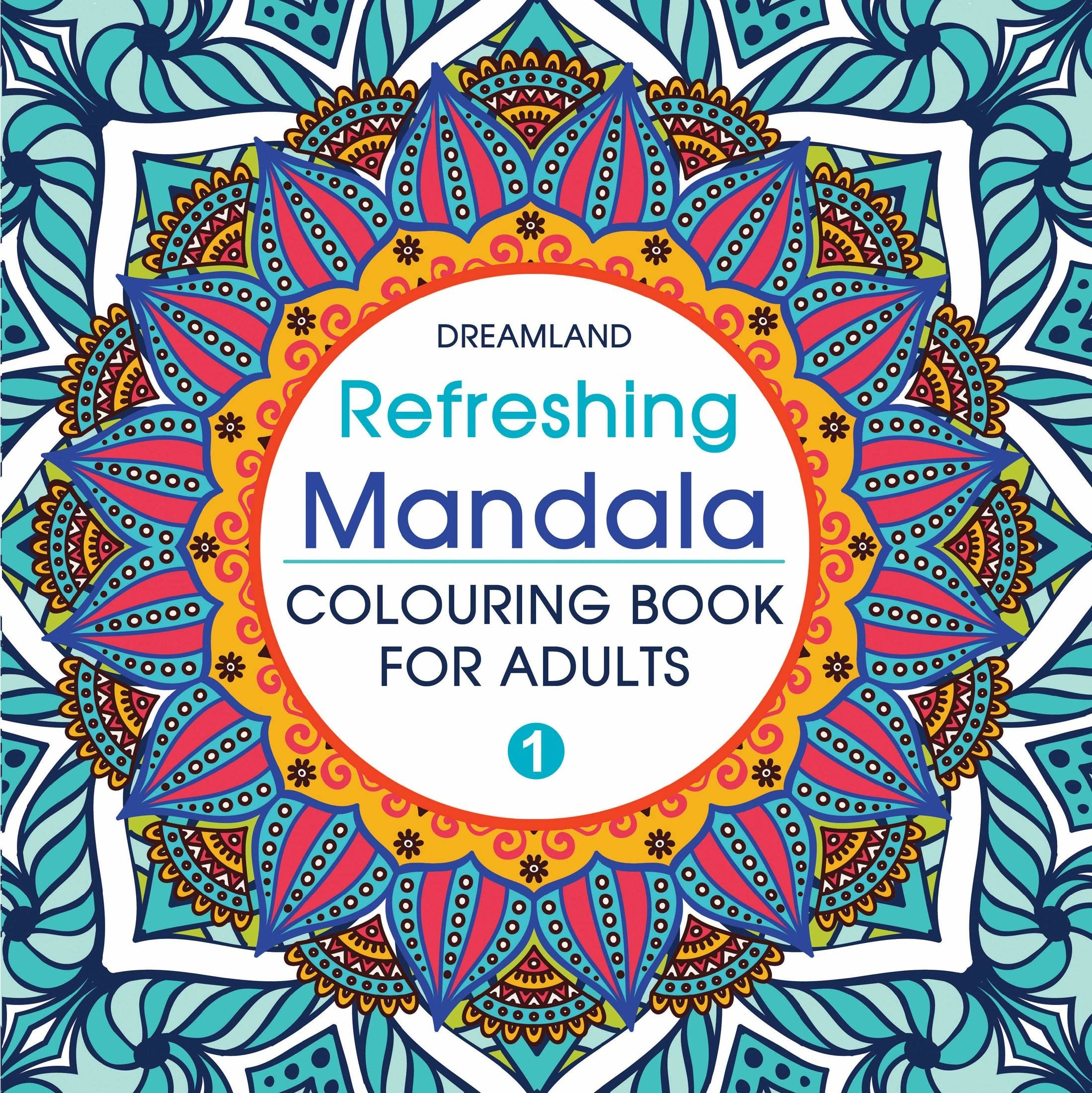 Cover of the Mandala colouring book