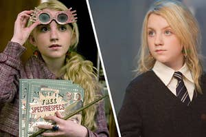 Luna Lovegood being her silly, beautiful self