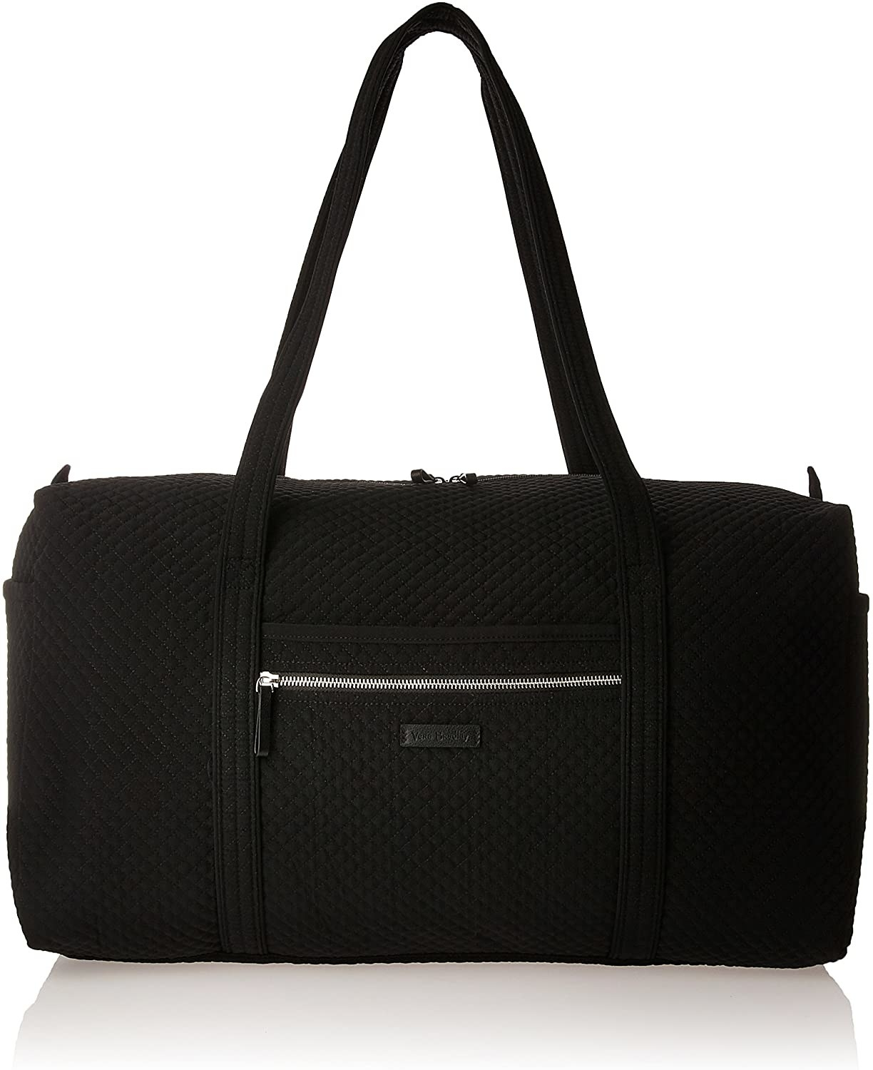 The black quilted bag