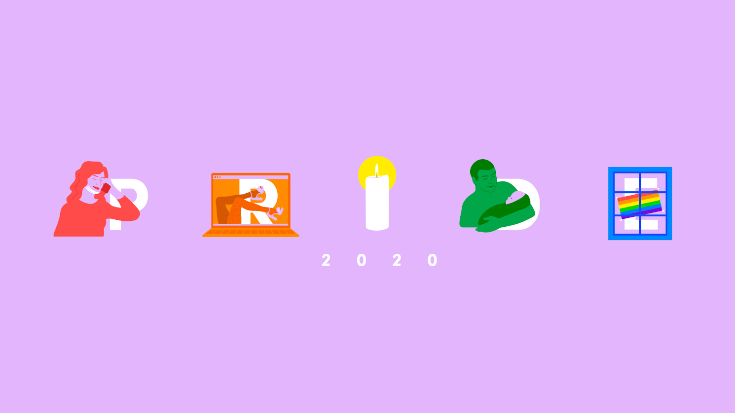The BuzzFeed 2020 Pride logo