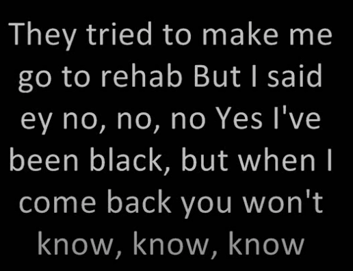 they tried to make me go to rehab screenshot