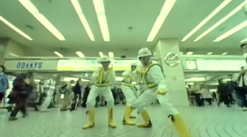 a screenshot of from the music video