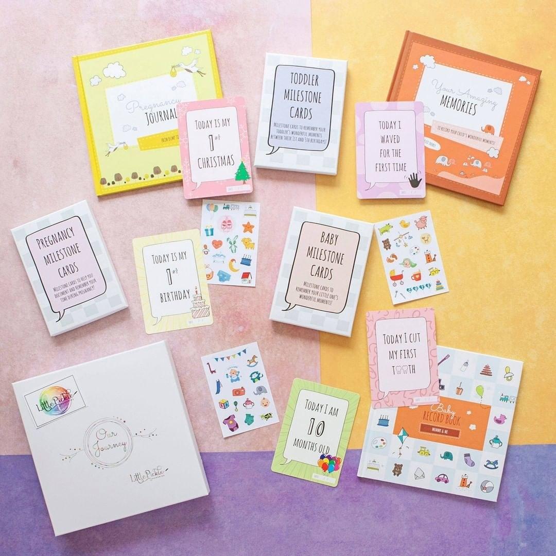 an assortment of cards