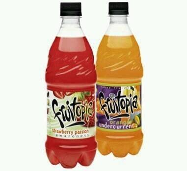 Photo of two Fruitopia bottles