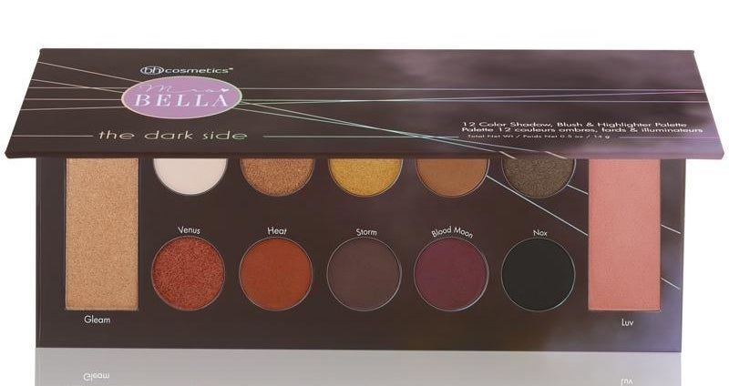 the eyeshadow palette