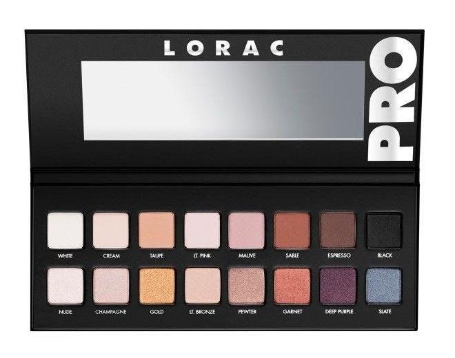 the Pro eyeshadow palette