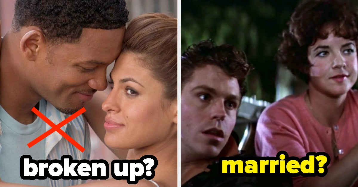 Did These 18 Rom-Com Couples Live Happily Ever After Or Break Up?