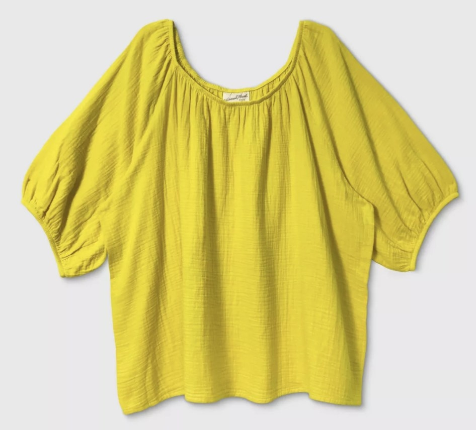The yellow top