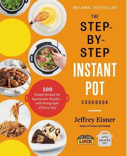 the orange cover of the cook book