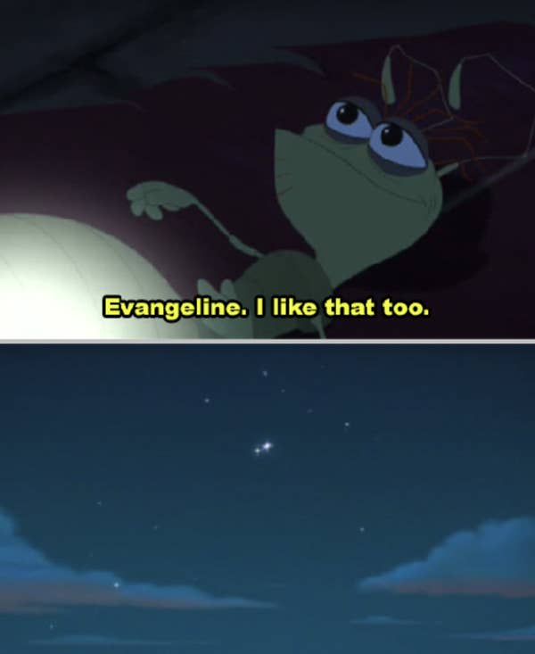 7. Ray hopes that something good would come out of the horrible news he received in The Princess and the Frog. Because, in some cases, the only thing you can do is submit and accept the result.