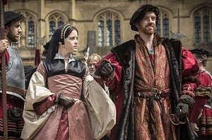 Henry VIII and Anne Boleyn in BBC's Wolf Hall
