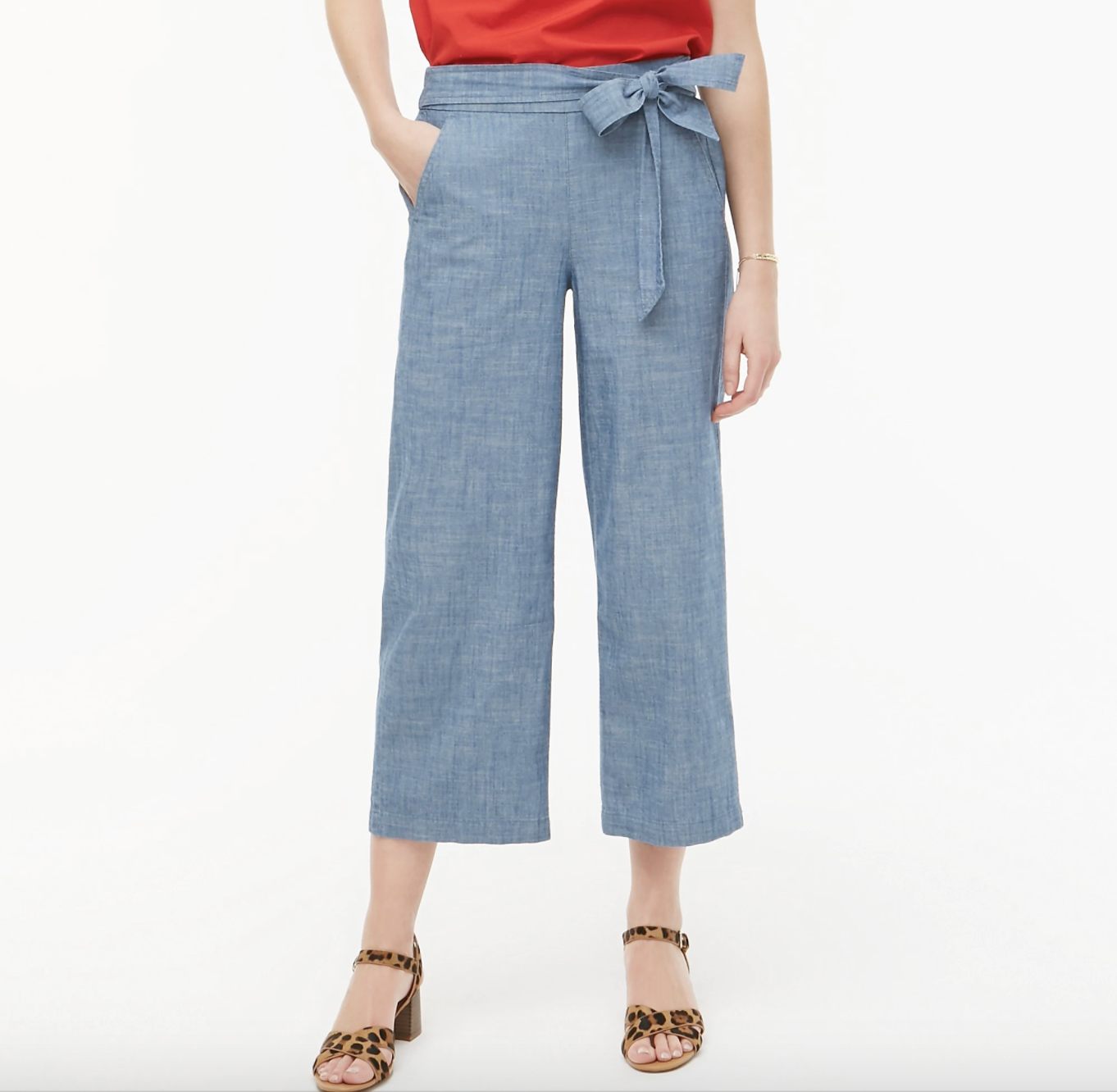 the chambray pants