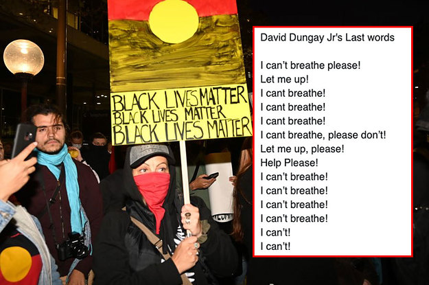 "David Dungay Was An Aboriginal Man Who Also Cried Out ""I Can't Breathe"" Before His Death — And Australians Cannot Forget His Name"