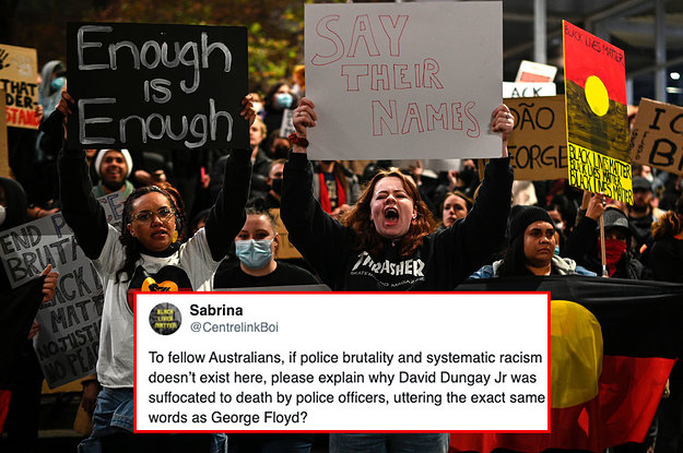 """An Aboriginal Man Called David Dungay Also Told Guards """"I Can't Breathe"""" Before His Death, But The World Doesn't Know His Name"""